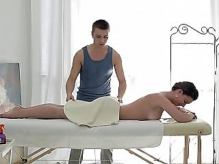 Anal fingering massage