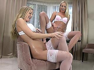 Pissing lesbian teens
