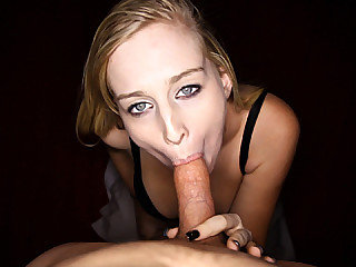 Stacie Jaxxx dropped to her knees and commenced spitting a king sized dick