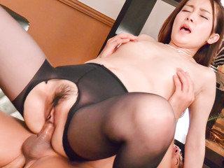 Misuzu Tachibana elations with man meat in her tiny pussy