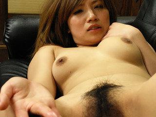 Super-hot mega-slut Misaki Aiba pays with her coochie